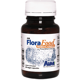 florafood Lactobacillus gasseri, Bifidobacterium bifidum, and Bifidobacterium longum
